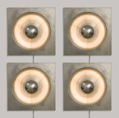 'Spiegel' Wall Lights for Louis Poulsen, Antique Lamps, Antique Lighting, Hanging Lights, Wall Lights, Metalarte, Creative Lamps, Mid Century Modern Lighting, Art Deco Lamps, Light Crafts