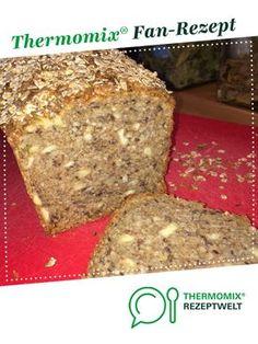 Weltbestes Dinkelvollkornbrot mit vielen Körnern und Nüssen von clara44. Ein Thermomix ® Rezept aus der Kategorie Brot & Brötchen auf www.rezeptwelt.de, der Thermomix ® Community.