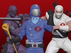 Pop Culture Shock, Cobra Commander, Storm Shadow, Shocking News, Gi Joe, Popular Culture, Action Figures, Superhero, Statues