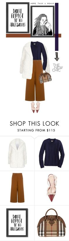 """""""Untitled #461"""" by ino-6283 ❤ liked on Polyvore featuring Claudie Pierlot, TIBI, Kate Spade, Americanflat and Burberry"""