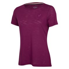 Asics Short Sleeve Layering Top - $39.99 CDN Enhance your cross-training and gym workouts while looking great in our new Short Sleeve Layering Top. Ultra soft, cotton touch fabric promotes ventilation and moisture wicking help you stay comfy all workout long.