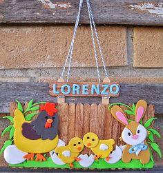 Popsicle Stick Crafts, Craft Stick Crafts, Paper Crafts, Easter Art, Easter Crafts For Kids, Birdhouse Craft, Chicken Crafts, Rena, Leaf Crafts
