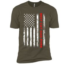 Men's Best Cat Dad Ever American Flag Tshirt For Fathers Day