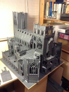 Terrain project: Imperial Cathedral - Forum - DakkaDakka | Insert witty quote here.