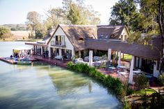 What a beautiful view of Vivere Wedding venue in Pretoria!