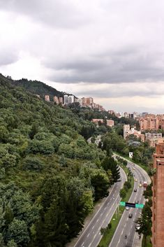 Nice view of our mountains, calle 100 carrera 7, Bogota D.C, Colombia