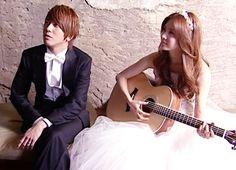 Wedding Photo BTS <3 Watch them @ http://wgmhammer.blogspot.com/2014/07/wgm-goguma-couple-eng-sub.html
