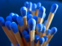 Blue matches