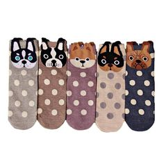 Cute Animal Socks #cute #socks #CuteAnimals #AnimalSocks #animals