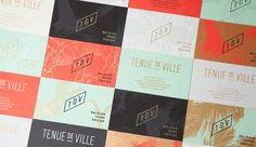 Tenue De Ville - Identity & stationery on Behance