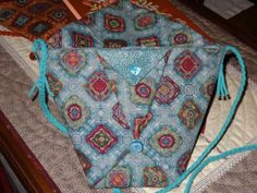 Tuto des sacs en origami - Patchwork Broderie Couture Tricot