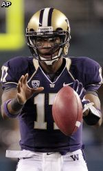 Washington Husky Football 2012...Great QB, off to a good start