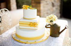 Желтые торты: ярко и сладко