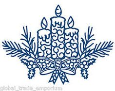 Image result for tattered lace christmas die