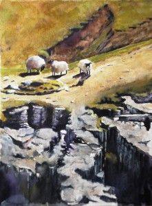 'Sheep in Wensleydale' by Graham Ibson