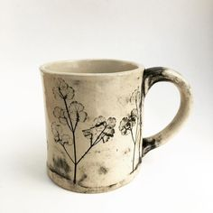 New one! Early meadow rue mug. by slashofblue
