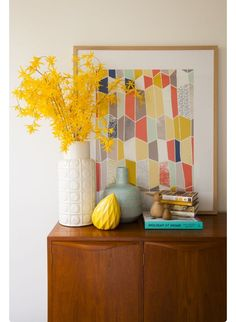 Print & Vases
