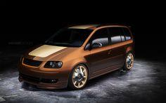 VW Touran by GoodieDesign.deviantart.com on @deviantART