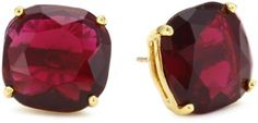 "Kate Spade New York ""Essentials"" Ruby Colored Small Square Studs Kate Spade New York, http://www.amazon.com/dp/B0085MIH32/ref=cm_sw_r_pi_dp_3w2-qb0XM9HC5"