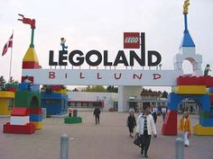 Legoland- is in Billund, Denmark. A very good reason to go for kids in most ages.