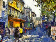 Dynamic Auto-Painter (DAP) Van Gogh style