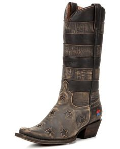 Redneck Riviera | Women's Panhandle Star Boot - Vintage Cinnamon | Country Outfitter