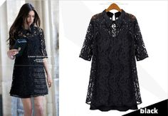 Spring and summer women's lace shirt  loose  ladies by PriJeBox, $28.99