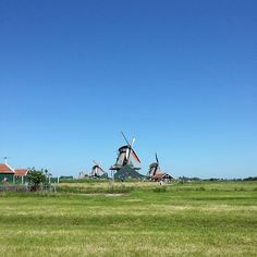 Zaanse Schans on our day trip to #Amsterdam #studyabroad #netherlands #europe #travel