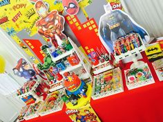 Super Heroes Birthday Party Ideas | Photo 1 of 10