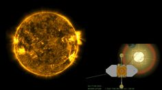 Sonda da NASA captura incrível eclipse solar duplo