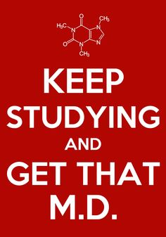 For all the nerdy girls at it in med school :)