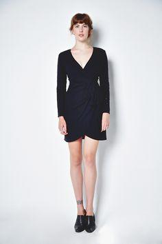1980s Carolina Herrera Cocktail Dress. sundayshoppe.com #littleblackdress #blackdress #vintage #vintageshop #vintagecouture #lbd #sexydress #cocktaildress #vintagedress