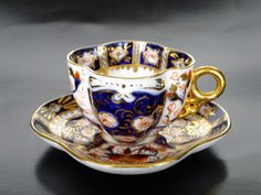 Maker Unknown c.1900's; in a similar style to my favourite Imari ware, just going by the colour palette & style alone.