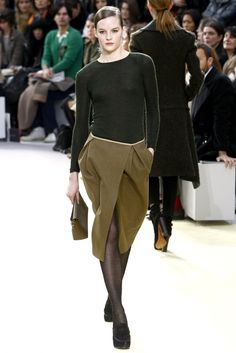 Céline Fall 2010 Ready-to-Wear Fashion Show - Sara Blomqvist