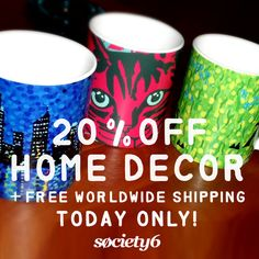 20% OFF HOME DECOR + FREE WORLDWIDE SHIPPING THIS PROMO ENDS TONIGHT DEC 2 AT MIDNIGHT PT! #promo #society6 #sales #ale #mugs #homedecor #xmasdiscounts #gifts #promotions #specialdeals #discount #deals #duvetcovers #home #household #decorations #christmasideas #freeshipping