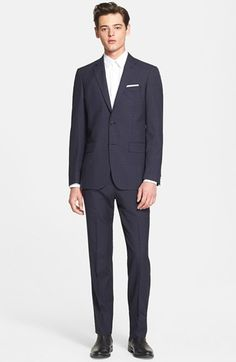 John Varvatos Star USA Trim Fit Wool Suit available at #Nordstrom