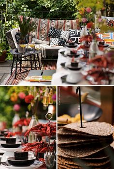More Kraftskiva! (and Ikea! Swedish Traditions, Surf And Turf, Picnic Set, Swedish Recipes, Get The Party Started, Party Drinks, Scandinavian Style, Ikea, Birthday Celebration