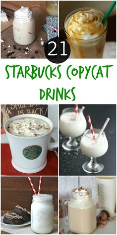 Be your own barista with these delicious Starbucks recipes that you can make from home!