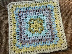 Fireworks Surprise by Amy Schwab. Pattern crochet free on Ravelry.