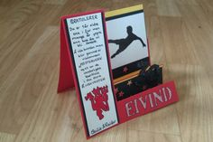Birthday Card - Football and Manchester United