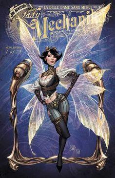 Arte Steampunk, Steampunk Book, Steampunk Artwork, Comic Book Artists, Comic Book Characters, Comic Books Art, Comic Art, Lady Mechanika, Fairytale Art