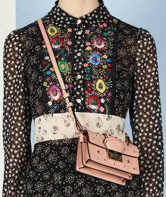 patternprints journal: PATTERNS, PRINTS, TEXTURES AND SURFACES INTO F/W 2016/17 FASHION COLLECTIONS / NEW YORK 9 - Red Valentino