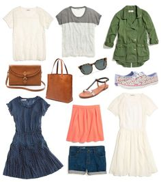 favorite things for the summer. essentially, everything from @Madewell #madewell #summeroutfit  a Silly Muse: Wearable - Summer Wardrobe