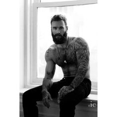 Mostly amateur HOT men. I have a real thing for Latino and Black men. hairy or smooth, just HOT men! Real men should have sex, not just models from porn sites. Inked Men, Art Of Man, Beard Love, Man Beard, Man With Beard, Sexy Beard, Beard Tattoo, Tattoo Ink, Sketch Tattoo