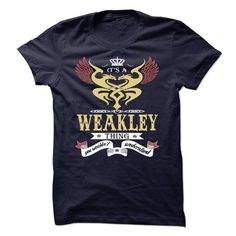 its a WEAKLEY Thing You Wouldnt Understand  - T Shirt,  - #grandparent gift #inexpensive gift. SATISFACTION GUARANTEED  => https://www.sunfrog.com/Names/its-a-WEAKLEY-Thing-You-Wouldnt-Understand--T-Shirt-Hoodie-Hoodies-YearName-Birthday-48766207-Guys.html?id=60505