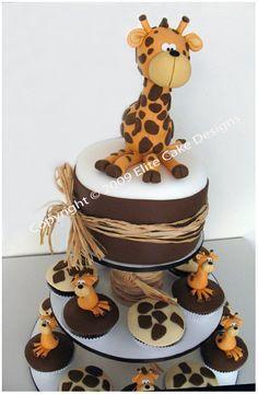 Giraffe Cupcakes n cake