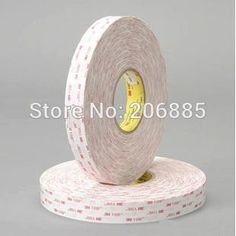 145.00$  Watch more here - http://aiqi8.worlditems.win/all/product.php?id=1947379563 - 100% Original 3M 4920 VHB acrylic 3m  foam tape double sided tape can use in outdoor or indoor/ 19mm*33m (0.75in*36yd)*5rolls