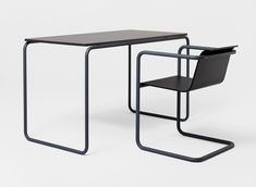 Pipe table and chair, 2009, by Konstantin Grcic