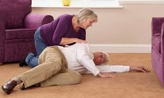 Home sensors that can predict when an elderly person will have a fall