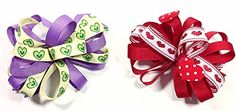 Valentines Day Unique Novelty Love Hearts Set of Two French Clip Barette Hair Bows for Girls (RPP) A coordinated accessory finishes the outfit!  Read more http://cosmeticcastle.net/hair-care/valentines-day-unique-novelty-love-hearts-set-of-two-french-clip-barette-hair-bows-for-girls-rpp  Visit http://cosmeticcastle.net the read cosmetic reviews